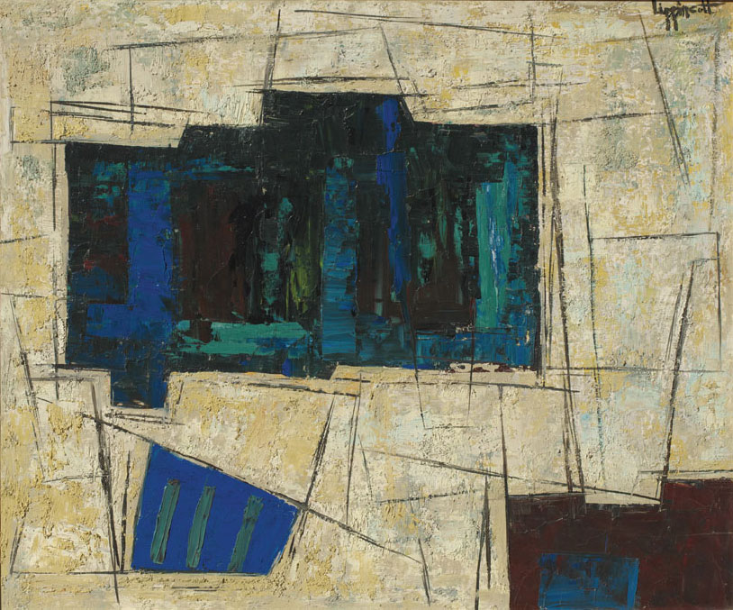 """Untitled- Early 1960s  25 x 29.5"""""""