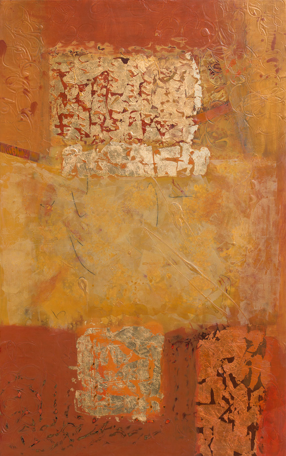 Antiquities VI 48 x 30""
