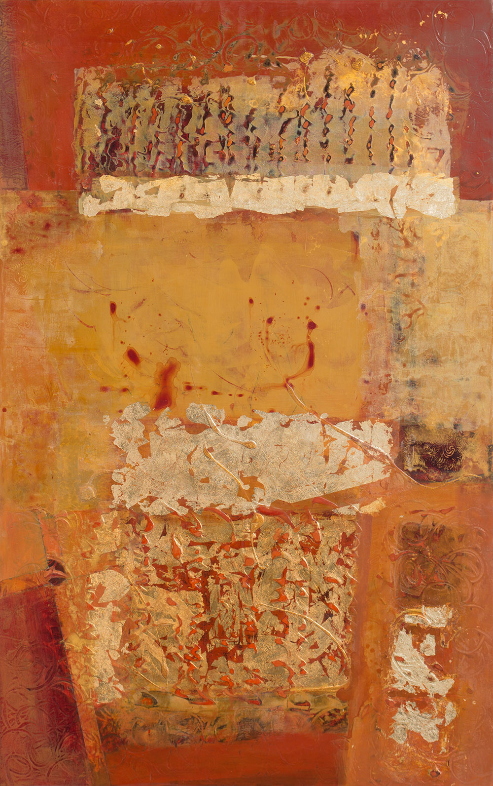 "Antiquities VII 48 x 30"" $ 6,200"