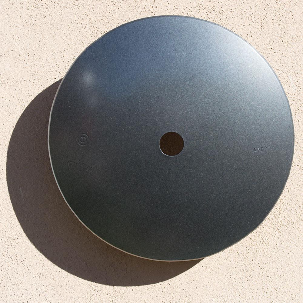 """Terrace Series, Disc (Metallic Steel)  16"""" diameter $ 950."""
