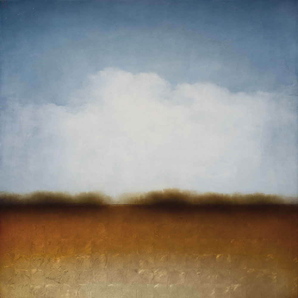 "All the Light in the Sky 60 x 60"" $ 17,800."