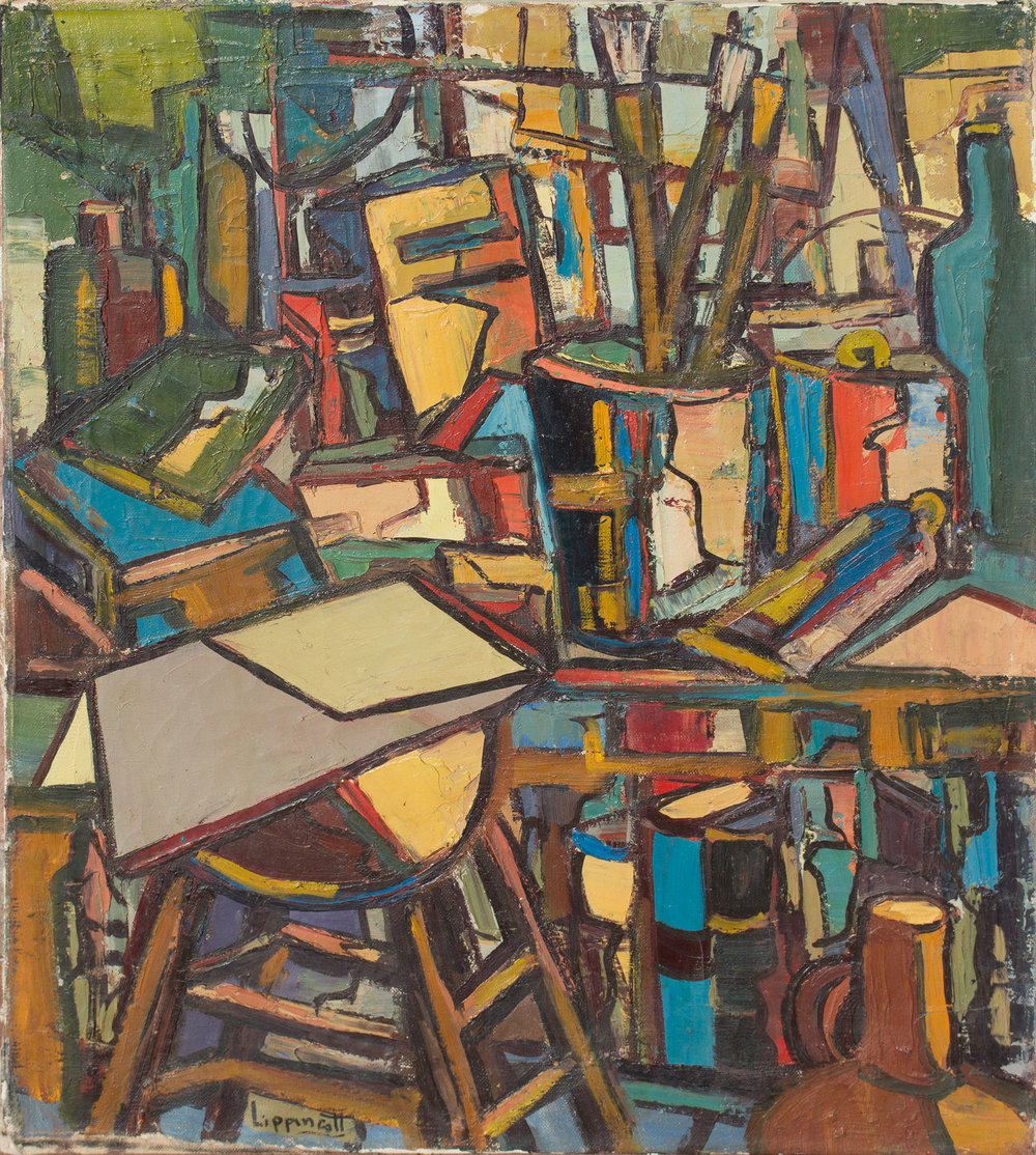 """Untitled (Tesuque 1950s)  22 x 18"""""""