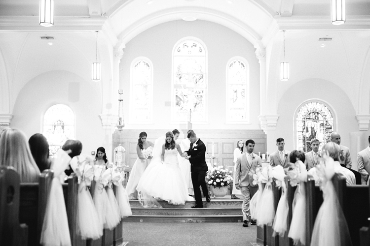 St. Paul Church Canton Ohio Wedding