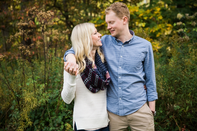 Chagrin Falls Engagement Photos