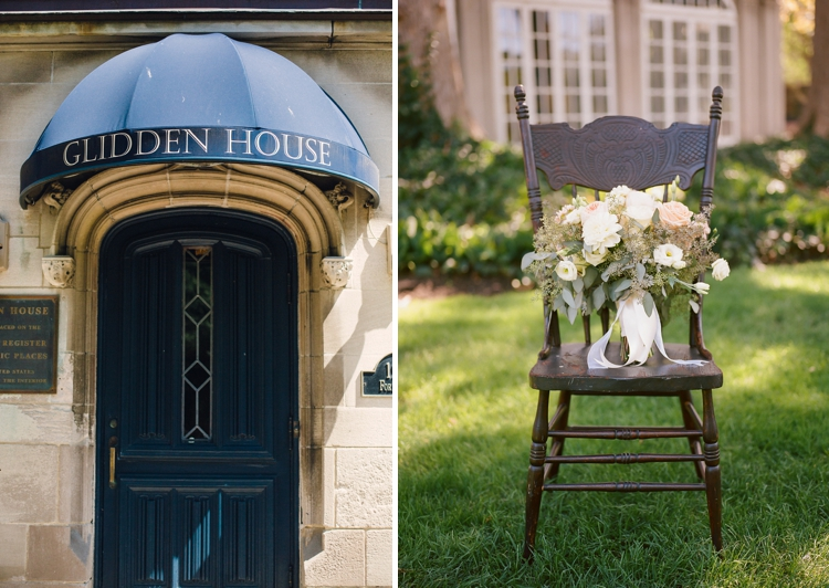 Glidden House Wedding Photographer