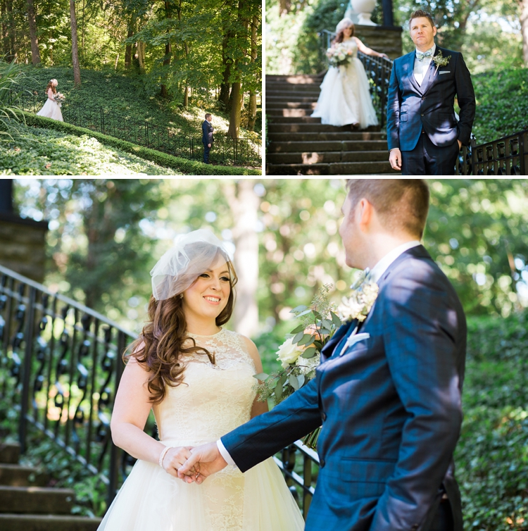 Cleveland Cultural Gardens Wedding Photos