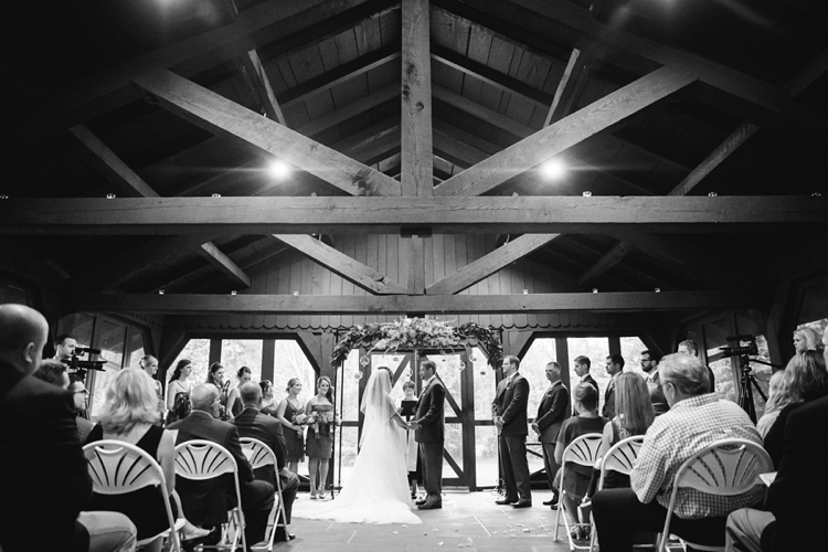Cuyahoga Valley National Park Wedding at Happy Days Lodge