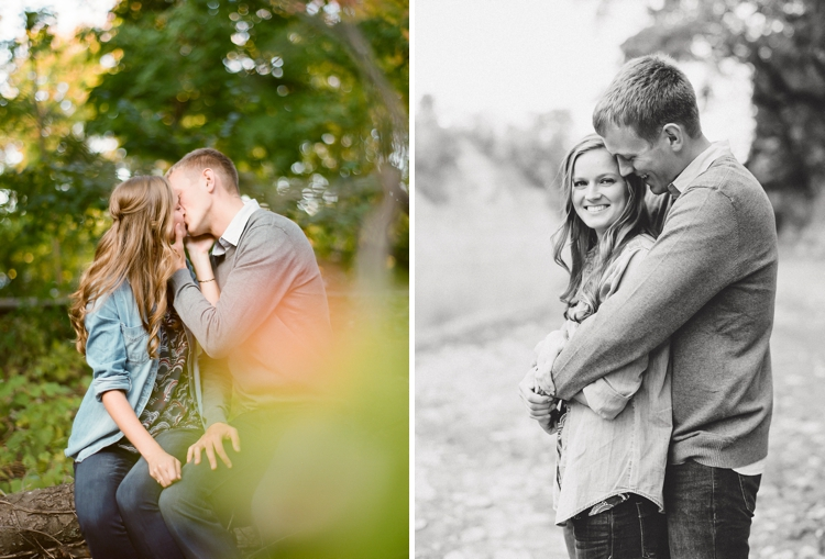 Rocky River Ohio Metroparks Engagement Photos