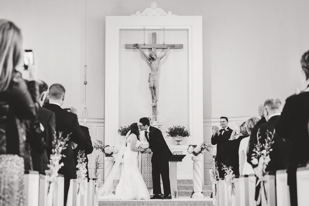 St. Dominic Shaker Heights Ohio Wedding
