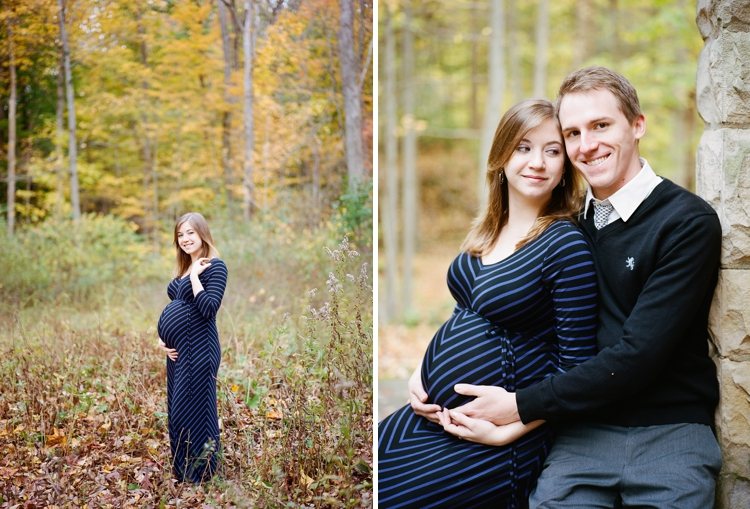 Squire's Castle Maternity Film Photos