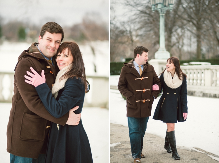Cleveland Art Museum Fine Art Engagement Session