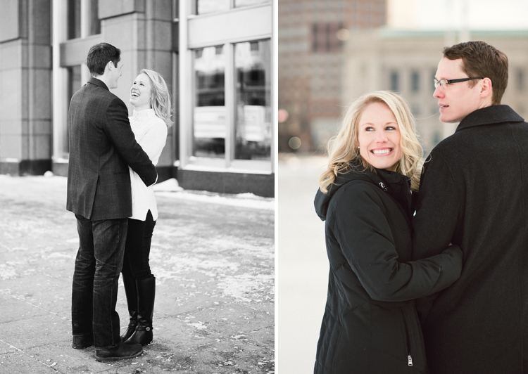 Cleveland Key Center Winter Engagement