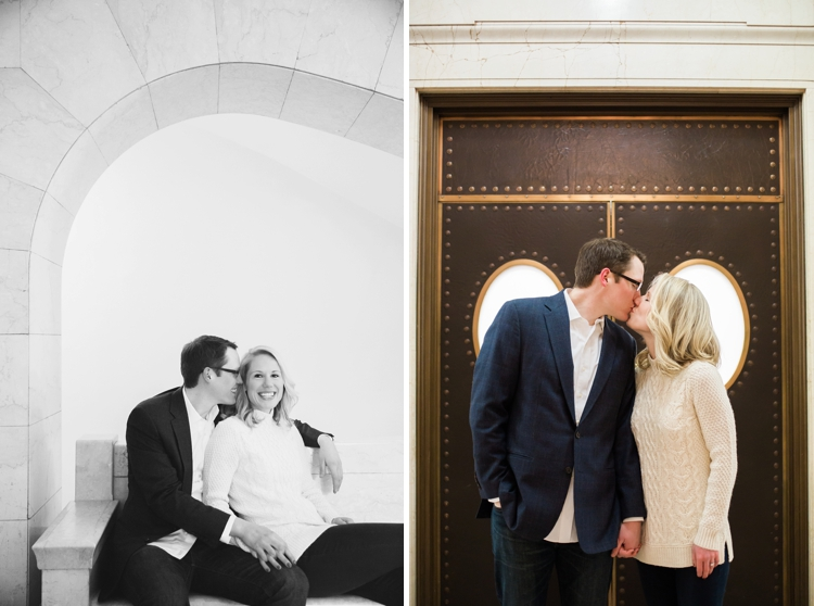 Downtown Cleveland Public Library Engagement Photos