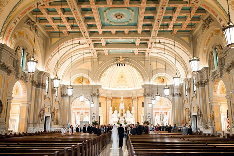St. Coleman's Cleveland Wedding