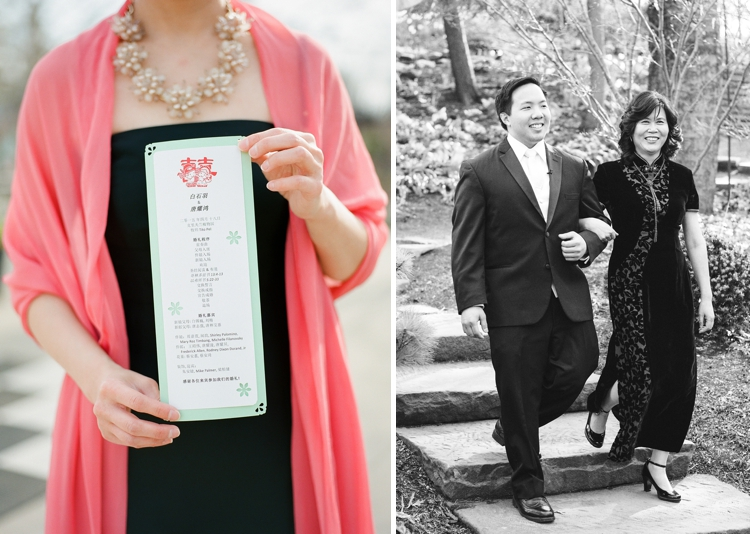 Outdoor Cleveland Spring Botanical Garden Wedding