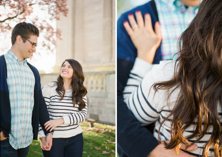 Cleveland Art Museum Engagement Session