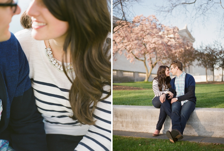 Wade Oval Lagoon Engagement Photos