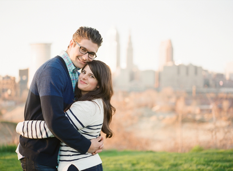 Ohio City Engagement Photos