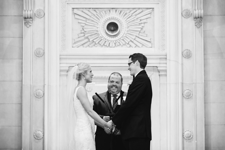 Greystone Hall Akron Wedding Ceremony