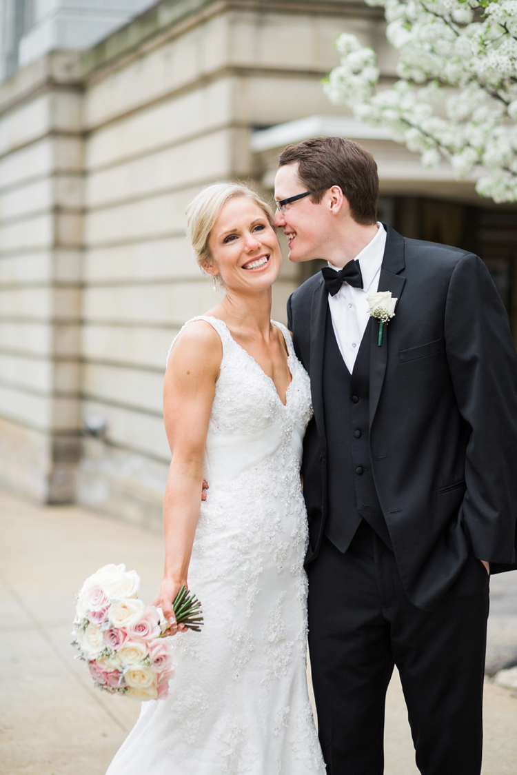 Akron Ohio Lifestyle Wedding Photos