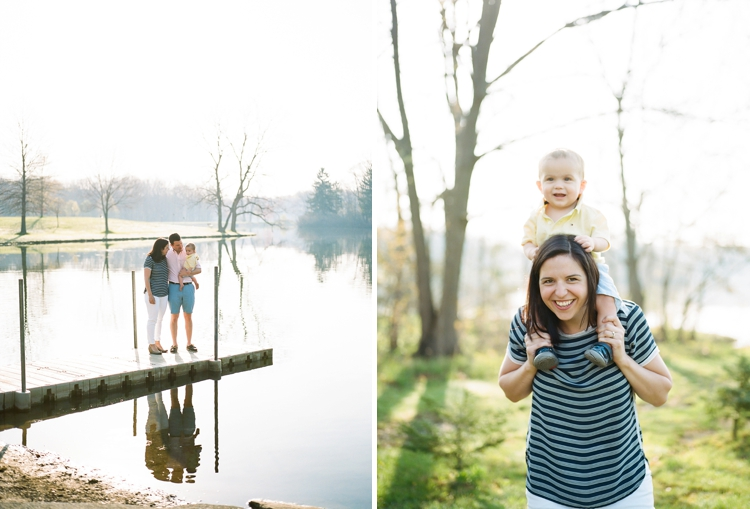 Hudson Springs Park Family Photos