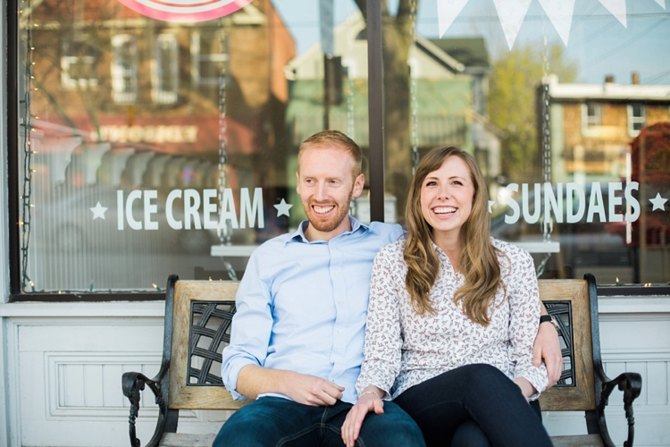 Tremont Scoops Ice Cream Engagement