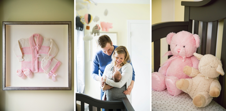 Cleveland Ohio Lifestyle Newborn Photography