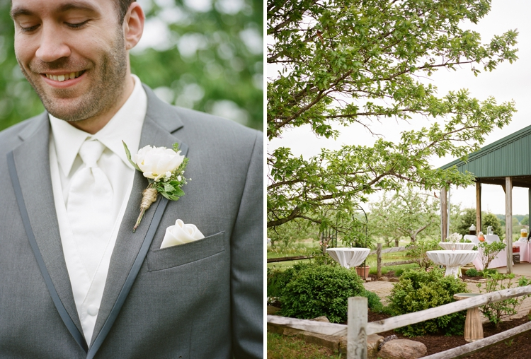 Amherst Ohio Apple Orchard Wedding