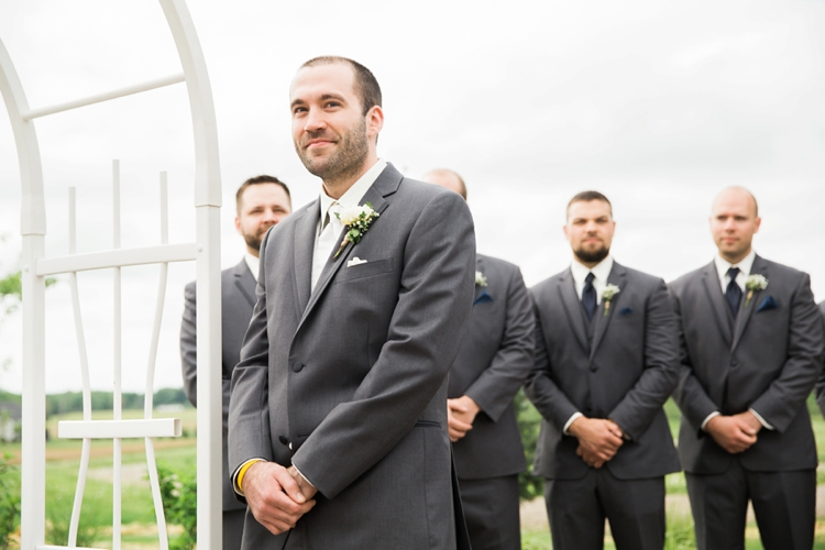 Cleveland Ohio Outdoor Spring Wedding