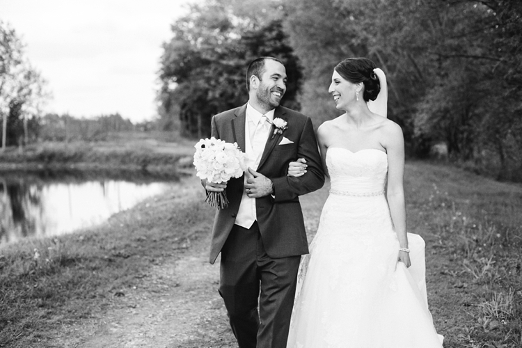 Cleveland Ohio Outdoor Farm Wedding
