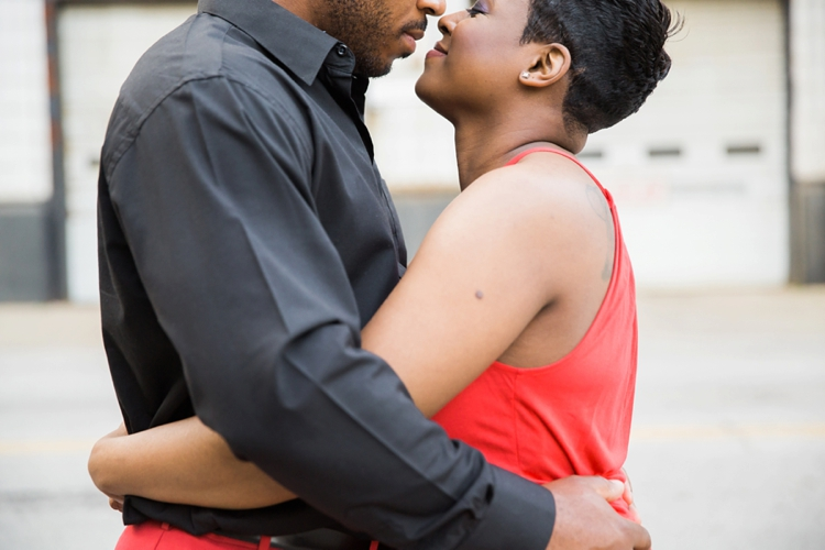 Playhouse Square Engagement Photos