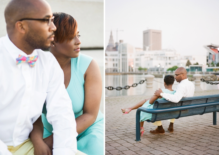 East 9th Street Pier Engagement Photos
