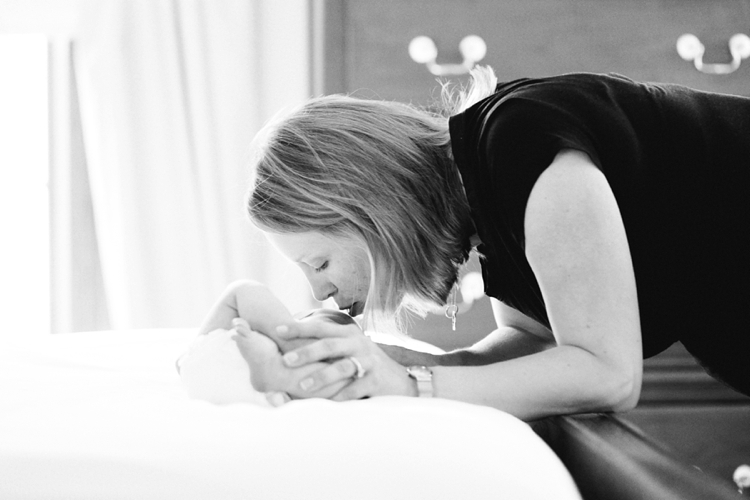 Akron Ohio In-Home Newborn Photographer