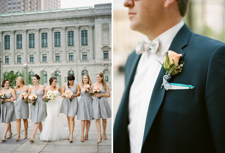 Cleveland Ohio Film Wedding Photographer
