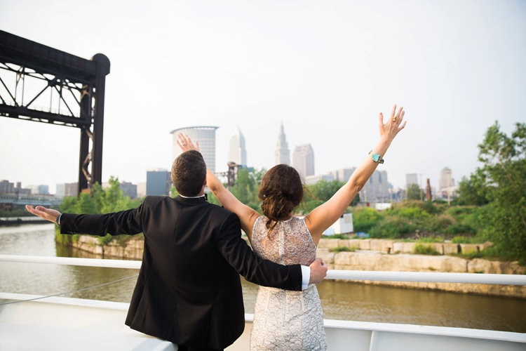 Goodtime III Boat Cleveland Wedding