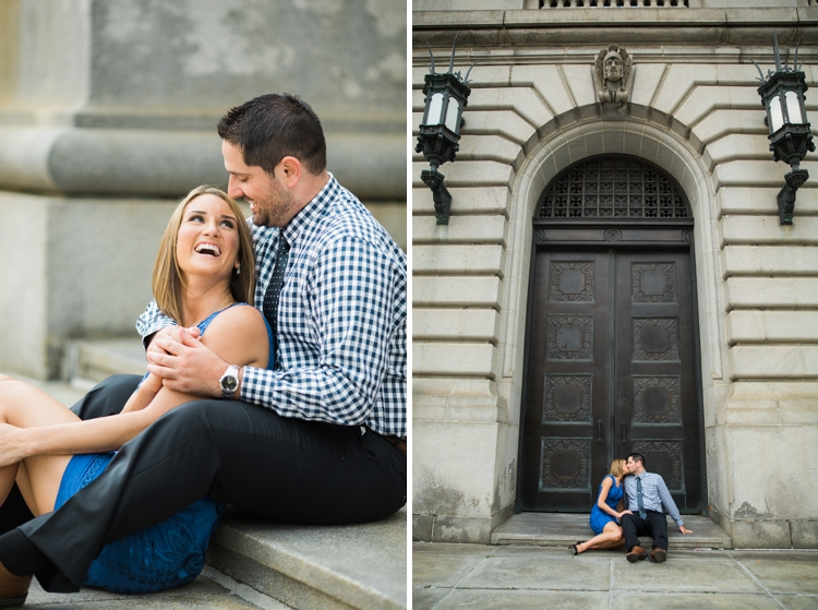 Urban Cleveland Engagement Photos