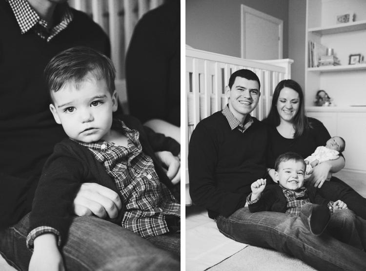 Cleveland Ohio Newborn Lifestyle Photographer