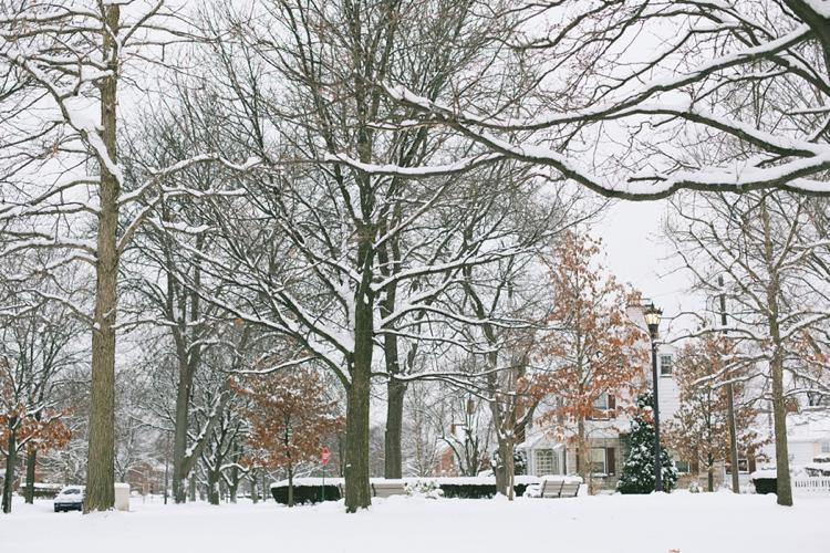 Shaker Heights Ohio Snow