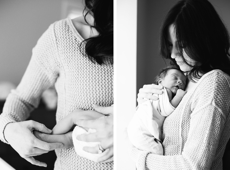 Cleveland Lifestyle Newborn Photographer