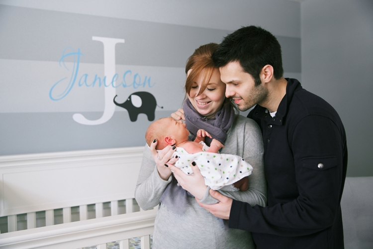 Mentor Ohio Lifestyle Newborn Photos