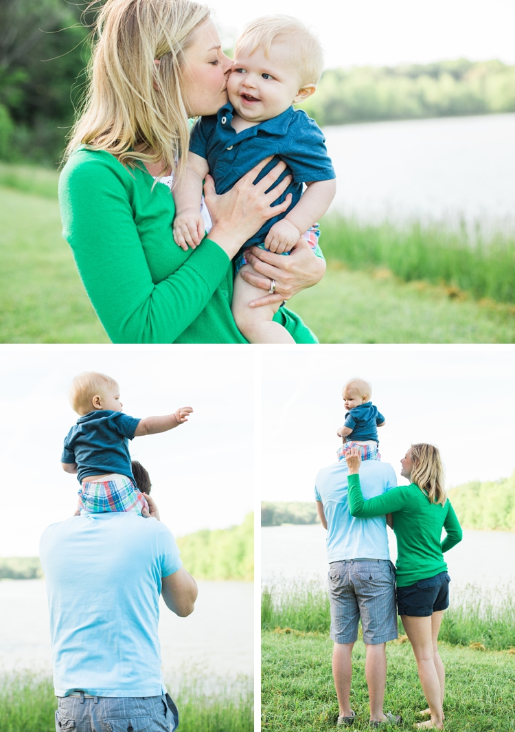 Hinckley Lake Family Photos