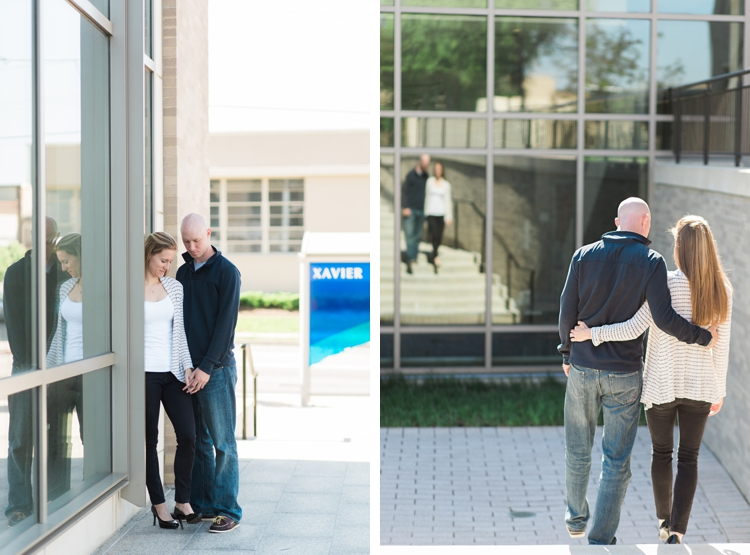 Xavier University Engagement Photos