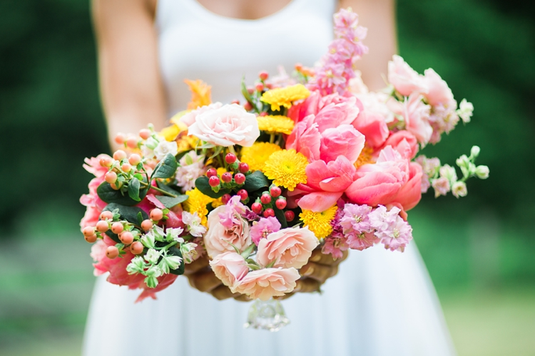 Pink and Marigold Wedding Inspiration