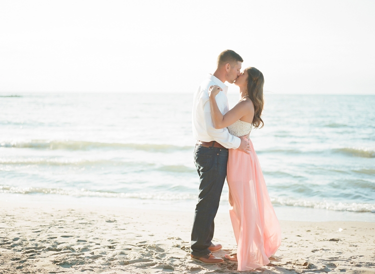 Bay Village Ohio Beach Engagement