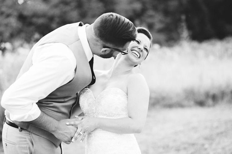 Cleveland Sunset Wedding Photos