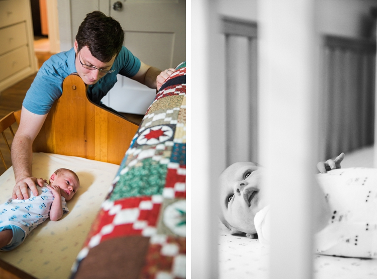 Cleveland Heights In-Home Baby Photos