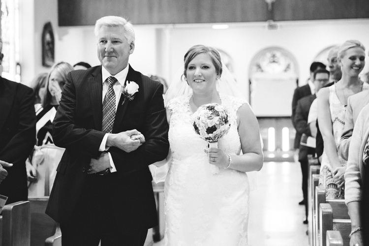 immaculate conception catholic church port clinton wedding