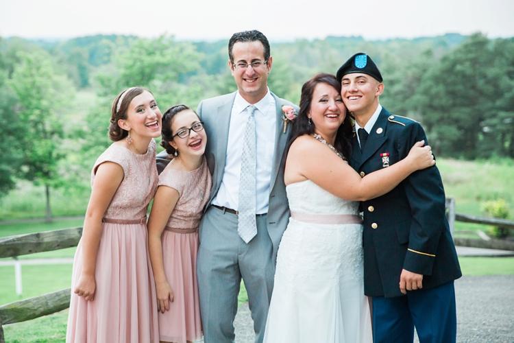 Cleveland Ohio Military Homecoming Wedding