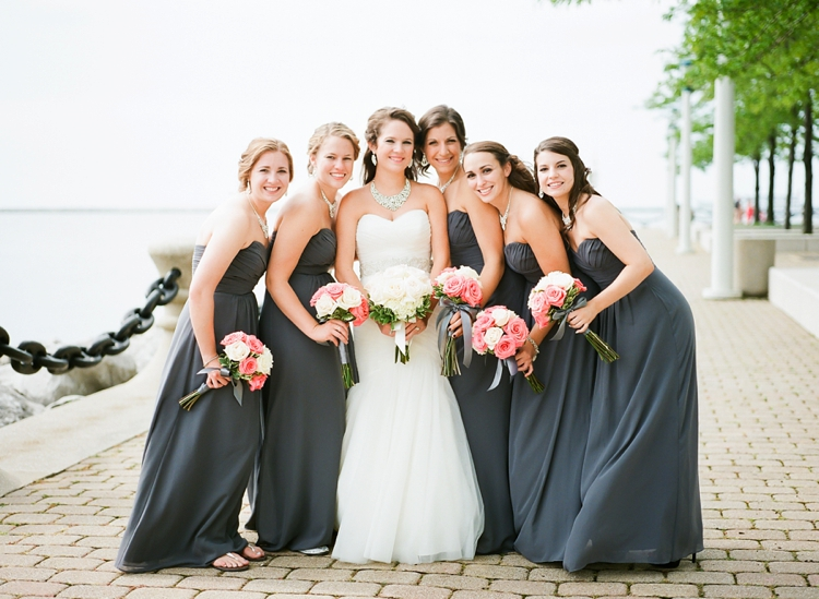 East 9th Pier Cleveland Wedding Photos