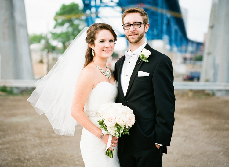 Cleveland Ohio Flats Wedding Photos
